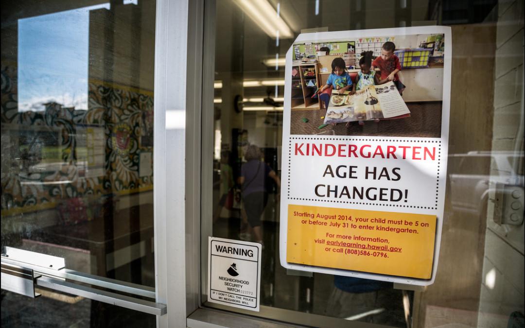 The Children Left Behind: Kindergarten Age Cutoff Has Families Scrambling