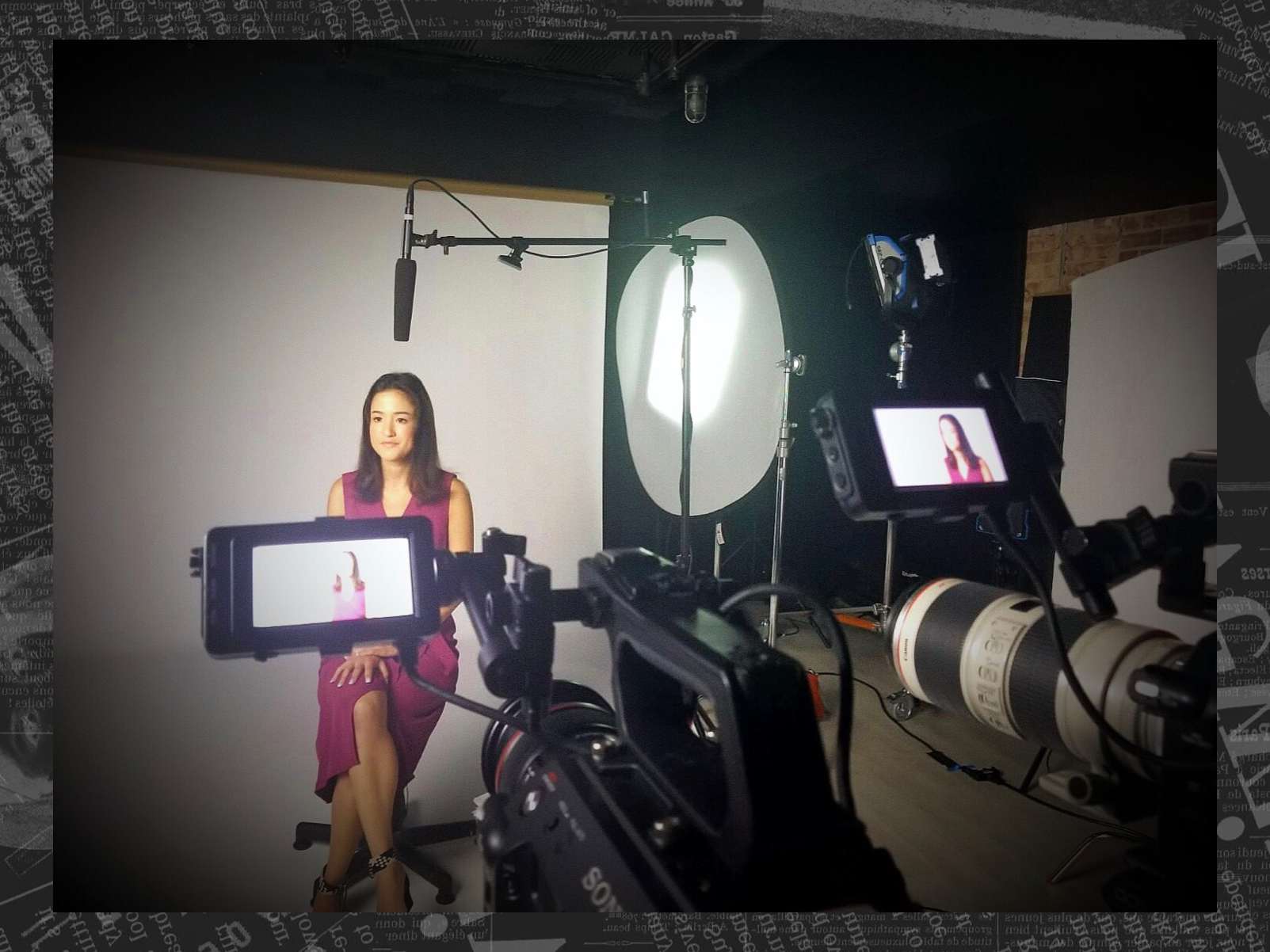 Alia on set for an Atlantic Studios documentary based on her story about the (terrible) state of P.E. in the United States. Click on the photo to read her take on gym class.